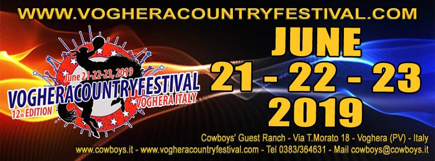 VOGHERA COUNTRY FESTIVAL 2019