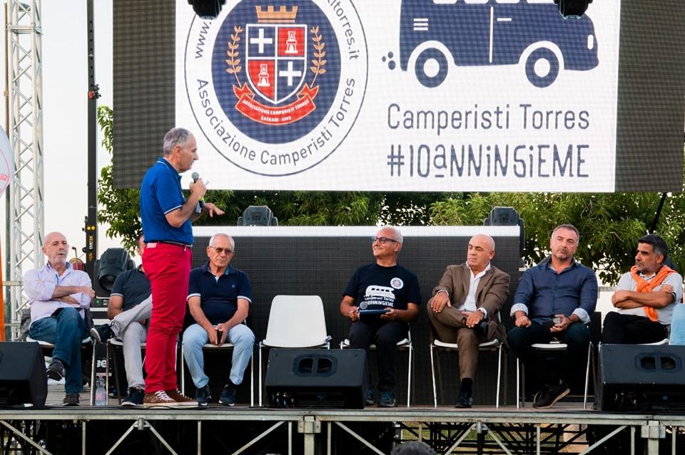 Festeggiamenti  #10anninsieme Associazione Camperisti Torres