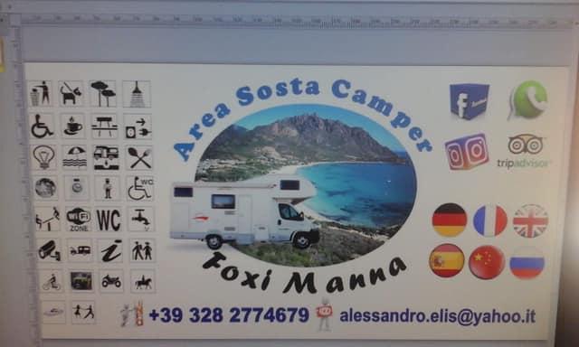 Area Sosta Attrezzata Foxi Manna